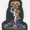 THE ROYAL SIGNALS: Officers Beret Badge.