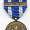 NATO MEDAL WITH CLASP: AFRICA