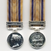 SOUTH AFRICA MEDAL WITH CLASP: 1879