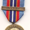 UNITED NATIONS MEDAL WITH CLASP: UNAMIC  (CAMBODIA )