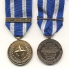 NATO MEDAL WITH CLASP: OUP-LIBYA/LIBYE