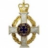 ROYAL ARMY CHAPLAINS DEPARTMENT - SCARF BADGE