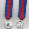 THE WATERLOO MEDAL 1815 - MINIATURE SIZE