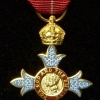 ORDER OF THE BRITISH EMPIRE GBE, KBE, CBE - MINIATURE