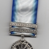 THE NORTHERN SERVICE MEDAL WITH TWO CLASPS