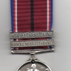 THE VOLUNTEER SERVICE MEDAL WITH TWO CLASPS
